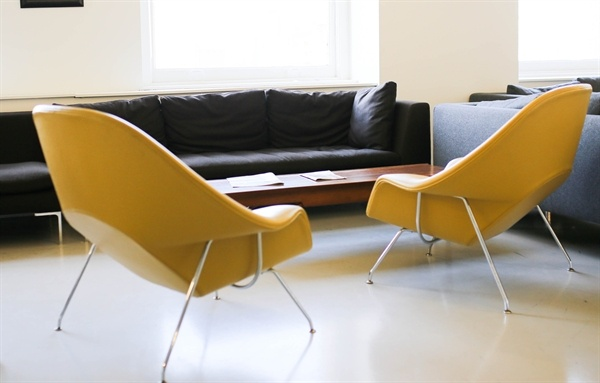 two_yellow_chairs